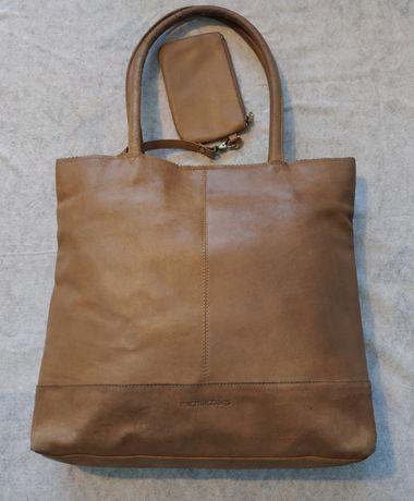 TANIO !Torba/ torebka z naturalnej skóry Micmacbags