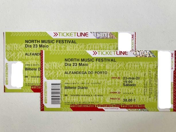 Bilhetes North Music Festival (2 Outubro)