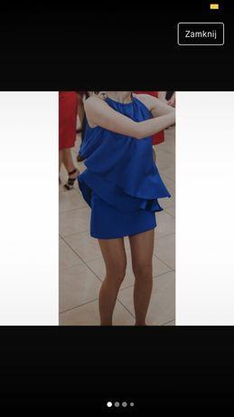 Chabrowa sukienka 34