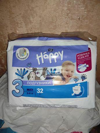 Подгузники Bella Happy 3. 32- шт