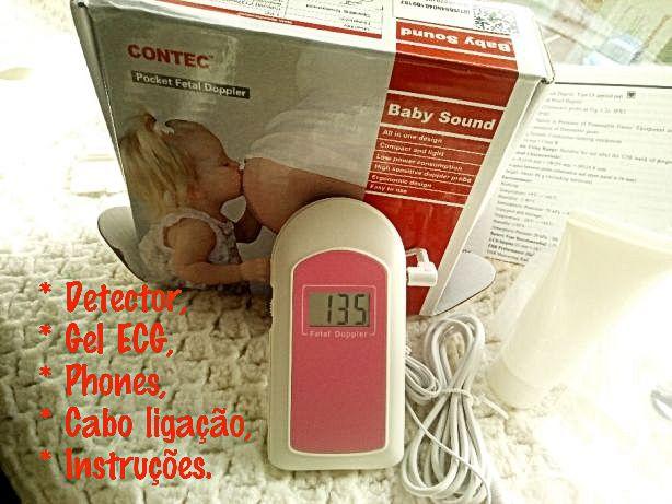 BabySound - Escutar/Visualizar batimentos Bebé Doppler Fetal - Novo