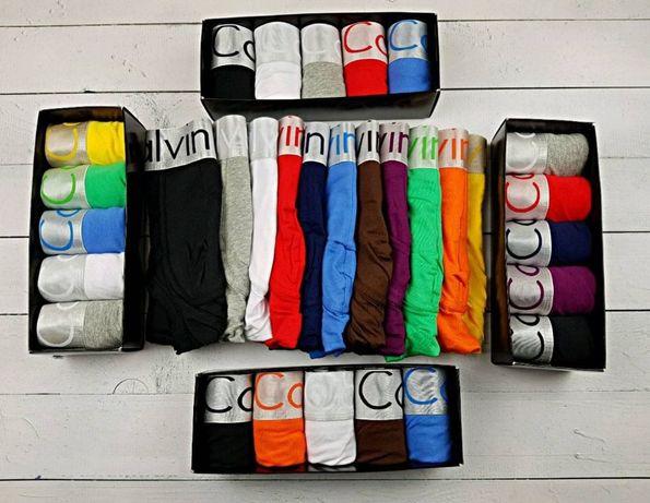 Bokserki męski Calvin Klein 5szt pudelko gratis. Bawełna
