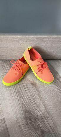 Buty trampki tenisówki neonowe jak nowe rozmiar 38