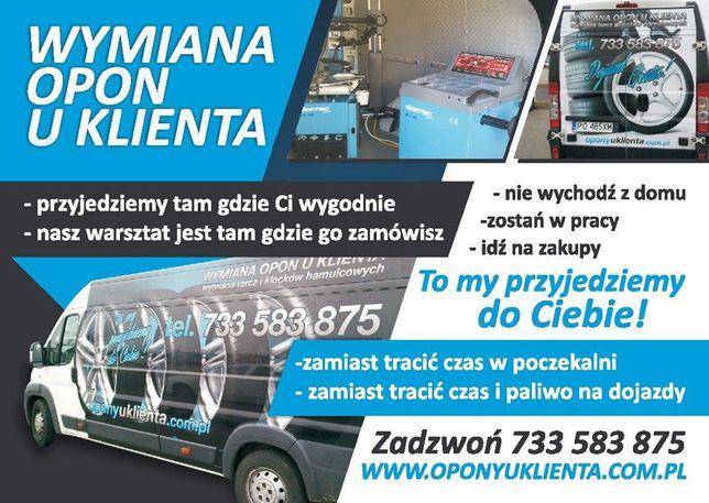 Mobilna wulkanizacja Poznan 24h naprawa opony z dojazdem do klienta