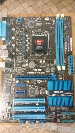Материнская плата Asus P8H61 PLUS Socket 1155 ATX (уценка)