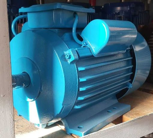 Электродвигатель однофазный, 220В, електродвигун, мотор, сеть 220В
