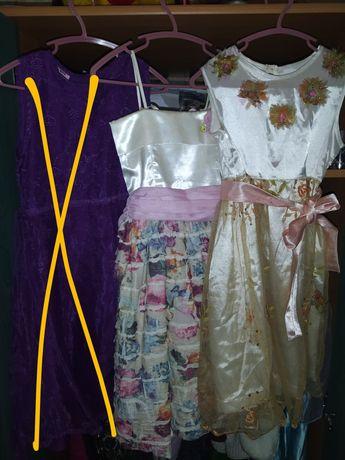 Платье плаття сукня нарядное 5-7 лет (на рост 116-128) цена за 2