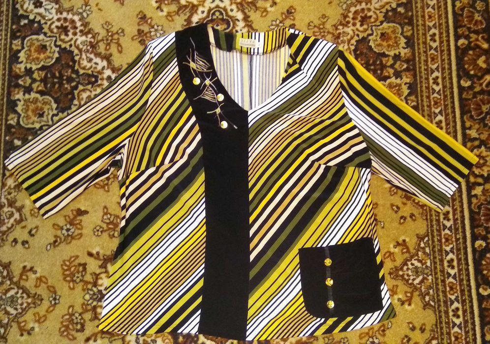 Блузка женская, большой размер.Цена 400 руб Донецк - изображение 1