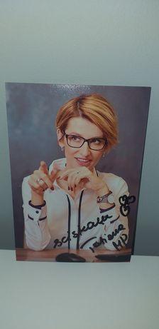 Autograf - Tatiana Mindewicz-Puacz