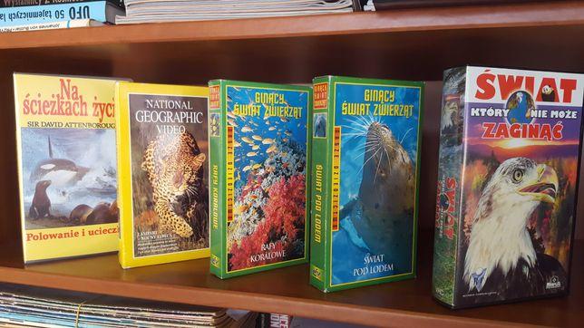 Przyrodnicze  Dokumentalne   kaseta VHS