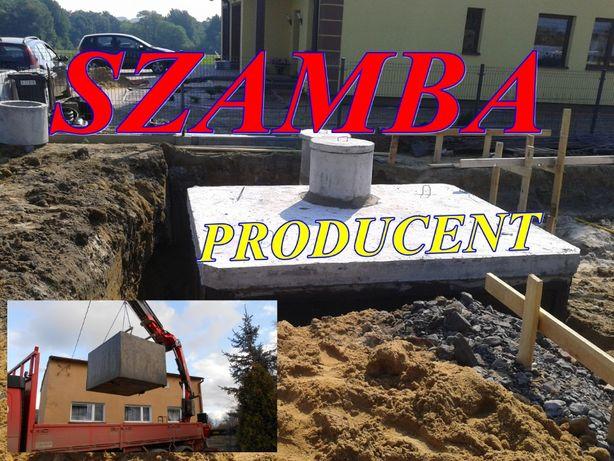 SZAMBA BETONOWE szambo zbiorniki studzienka 12m3 SZYBKO I TANIO