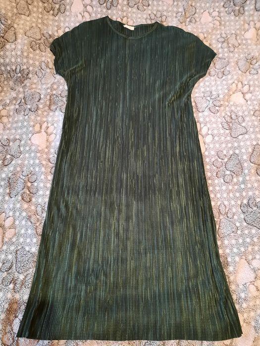 Зелёное платье плиссе Київ - зображення 1
