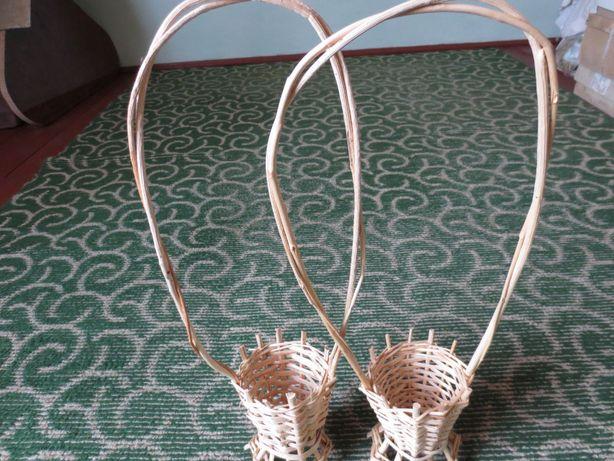 Весільні (свадебные) квіткові корзини