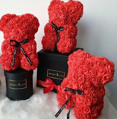 Милый подарок 8 Марта ! Мишки Teddy из роз 3D!!!