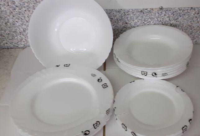 Набор посуды сервиз столовый Luminarc Cadix 19 предметов люминарк