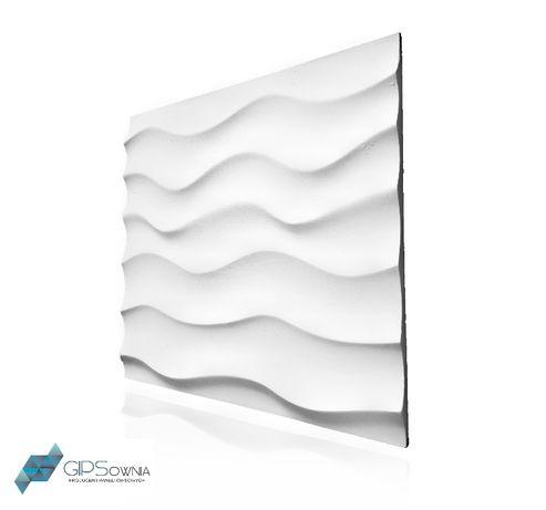 """panele gipsowe 3d ścienny panel dekoracyjny gipsowy """"wydmy"""""""