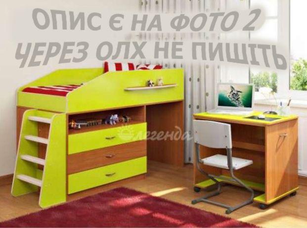 Ліжко чердак кровать детская