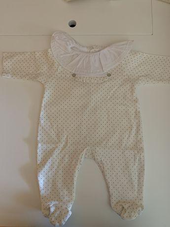 Babygrow algodão Bean 0m - 6€