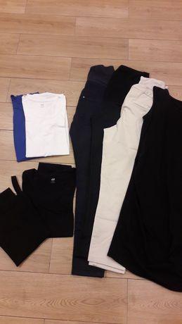Zestaw paka ubrania ciążowe XS/S