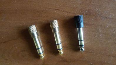 Adapter AUX MINI JACK 3,5 mm - JACK 6,3 mm