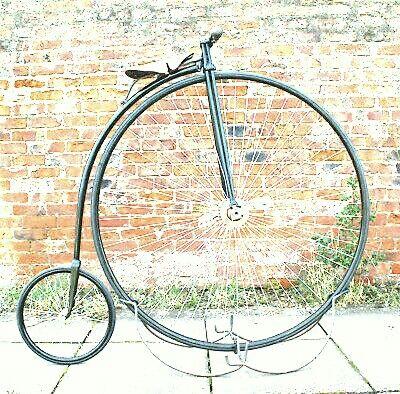 Bicicleta Penny Farthing high wheel bicycle inglesa Vintage Antiga