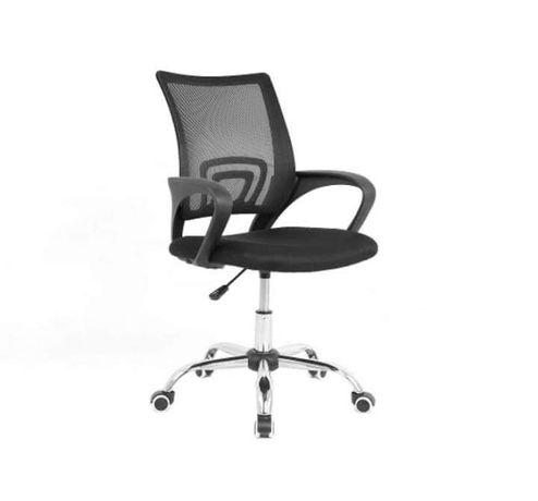Krzesło biurowe młodzieżowe Camper czarne nowe