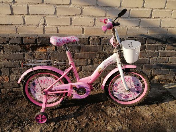 Велосипед для девочки 18 дюймов