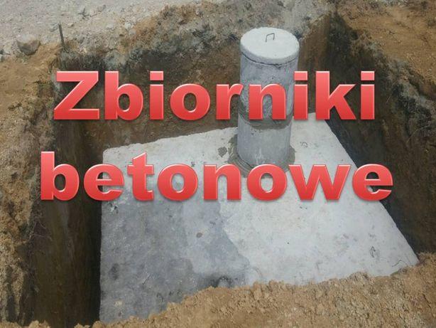 Zbiorniki na szambo Cała Polska szamba betonowe 10m3 wodoszczelne
