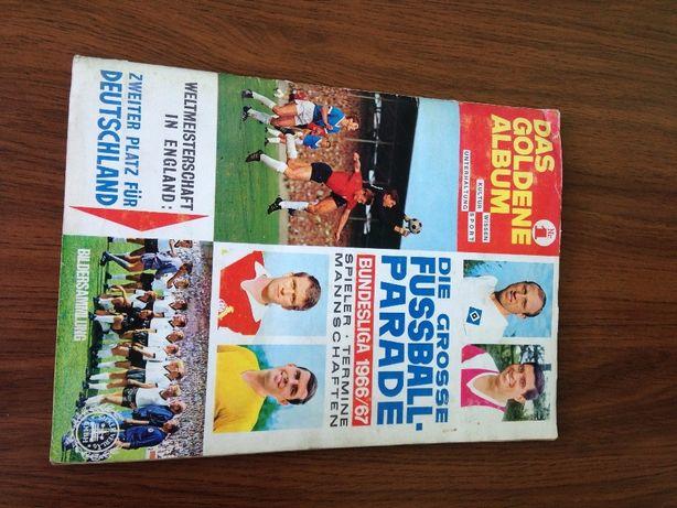 Bundesliga 1966/67. Футбольный альбом с наклейками.