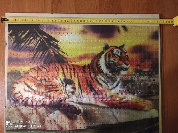 Puzzle  3 D tygrys-antyrama