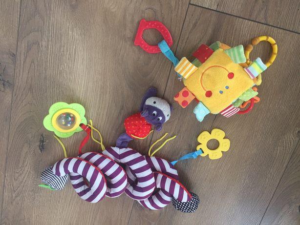 Spirala zwieszka Mamas & Papas plus kostka sensoryczna Baby Dream