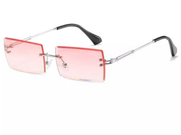 Стильные трендовые модные очки без оправы
