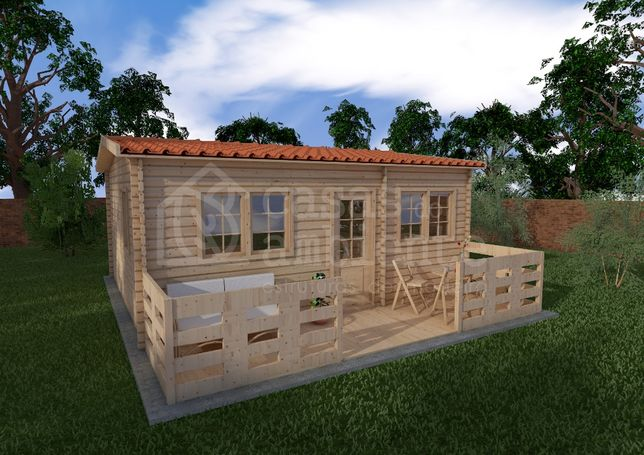 Casa de Madeira   Cabana de Madeira   T1  