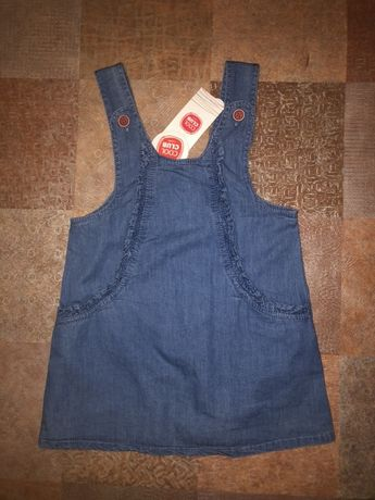 Платье Cool Club сарафан джинсовый