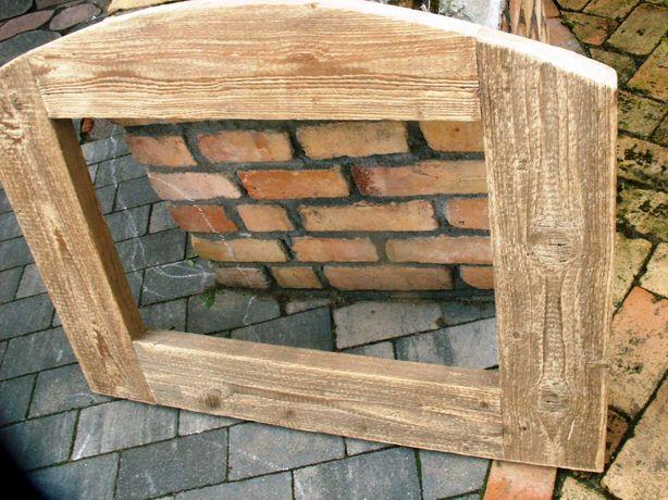 Stare okno rama okienna lustro zdjęcia aranżacja 91x70