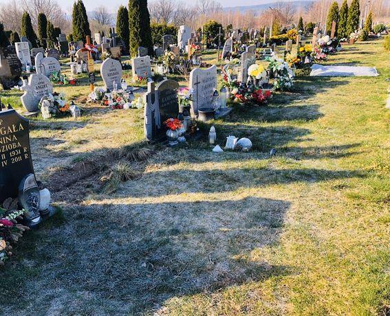 Miejsce na cmentarzu