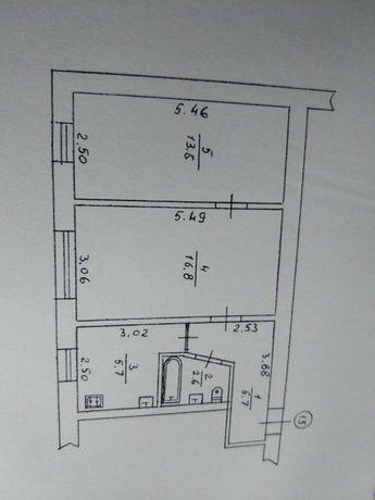 Продам 2к квартиру на першому поверсі