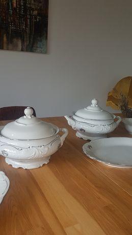 Serwis WAWEL PRL porcelana