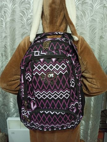 Новый Рюкзак Сool For School 42х28х13 см 15 л Фиолетовый