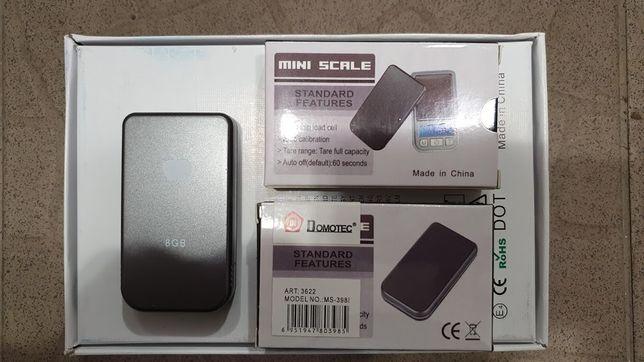 Весы мини ювелирные ваги Domotec MS-3981 200 грамм