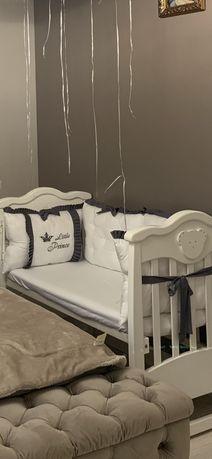 Бортики постіль подушки