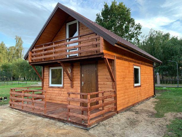 domek drewniany, letniskowy, całoroczny, ocieplony, do 35m2