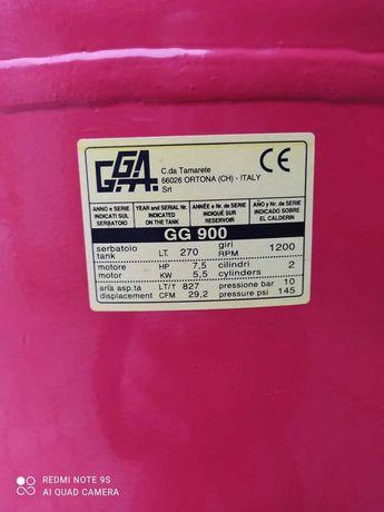Компрессор поршневой GG 900V (380В, РЕСИВЕР 270 Л) Италия