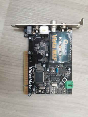 Продам ТВ-тюнер (плата) Compro VideoMate Vista M1F
