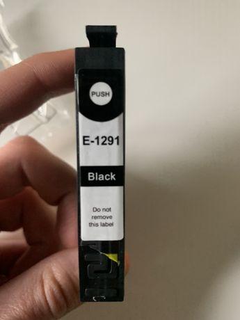 ZA DARMO 2x tusz do drukarki kartridż E-1291 Epson T-1291 czarny black