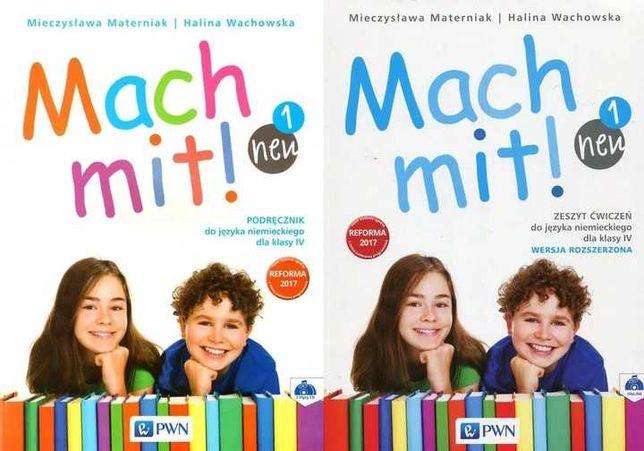 MACH MIT NEU 1 Komplet podr+2CD +ćwicz Rozszerzone /nowe/