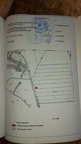 Продам земельну ділянку під будівництво в с. Корнин