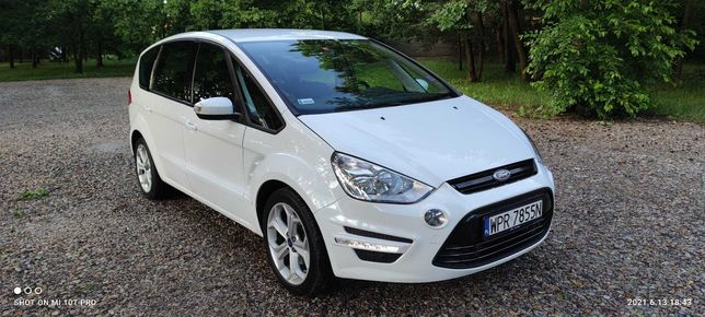 Ford S-Max 2.0 benzyna 145 KM - 7 osobowy