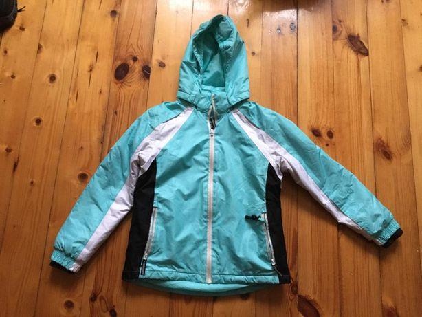 kurtka narciarska crivit 134/140 cm dziewczęca stan idealny