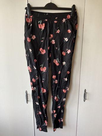 Letnie Spodnie H&M w kwiaty Floral
